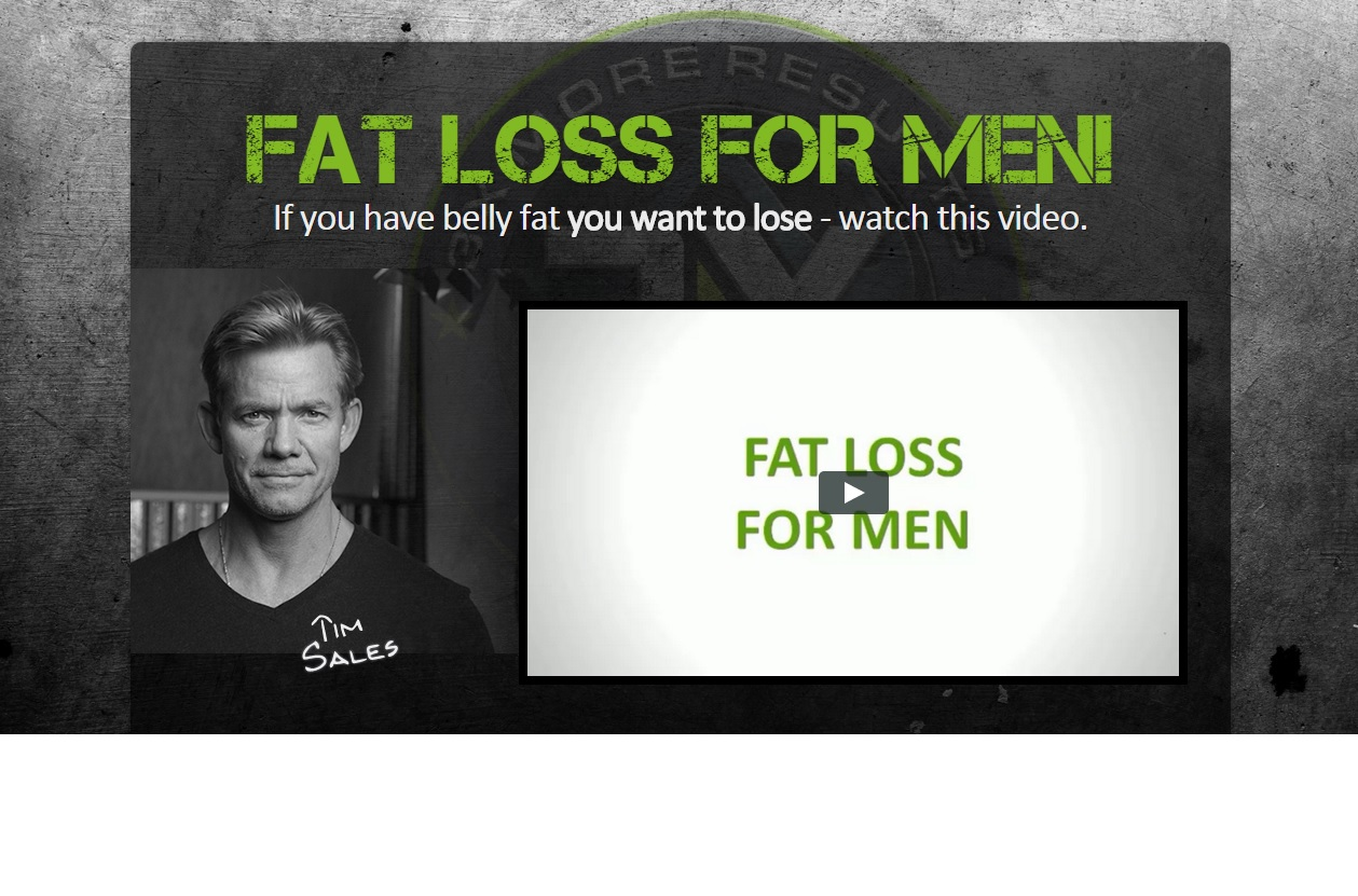 fat loss for men